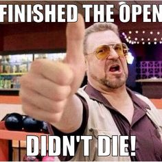 Open didn't die