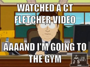 watched video ct fletcher