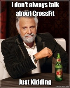 Talk about Crossfit